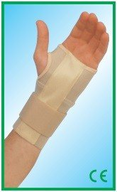 Бандаж на лучезапястный сустав с анатомической металлической пластиной 840 (ортез)