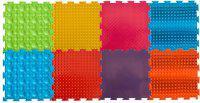 Модульный коврик Орто Набор № 3 ( камни, трава,.шипы, волна)