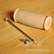 Накладка на ручку для костыля подмышечного желтая (1шт)